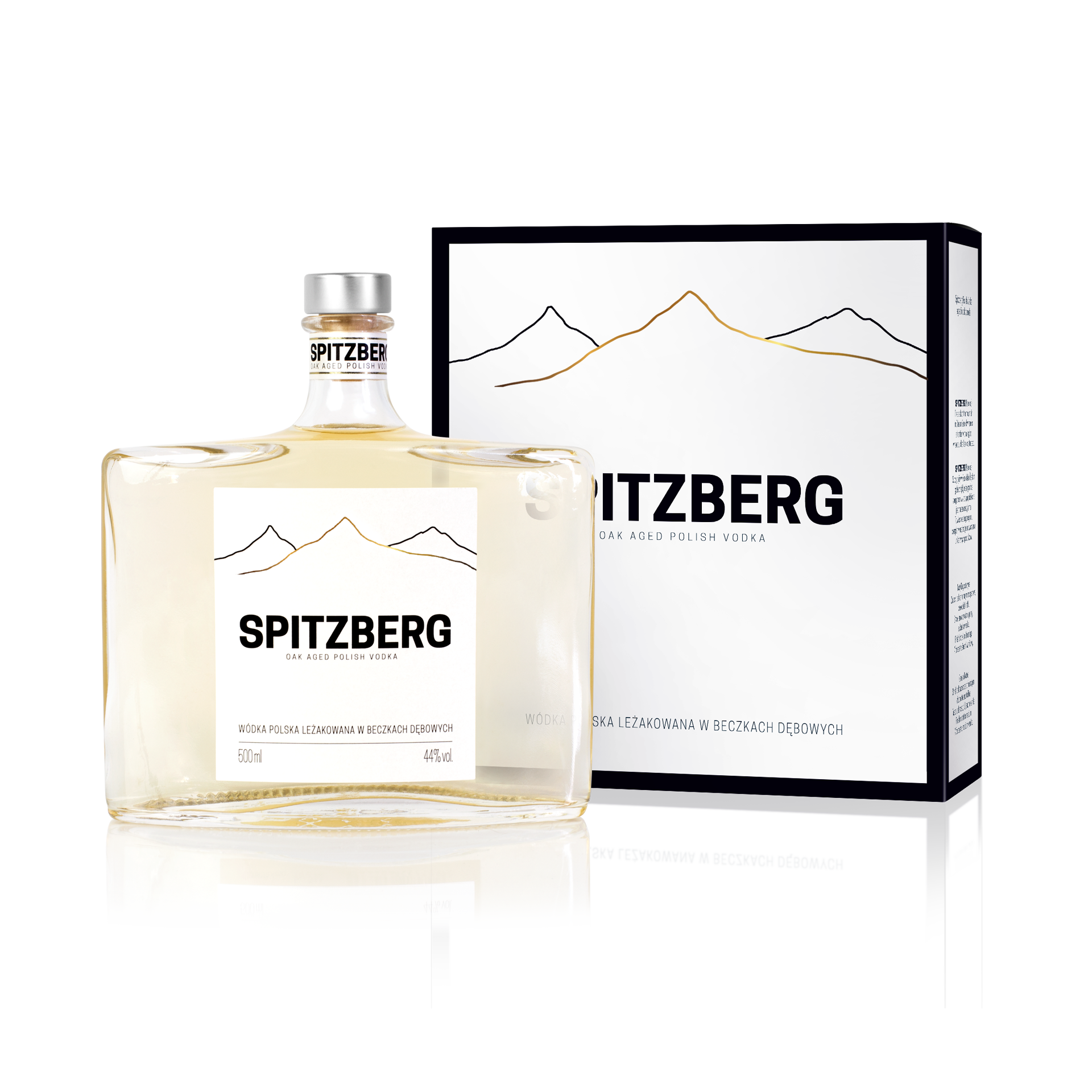 SPITZBERG OAK AGED POLISH VODKA